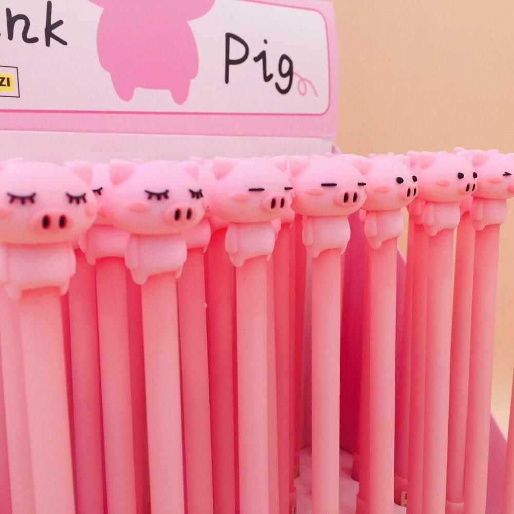 40 pçslote criativo dos desenhos animados porco