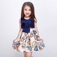 Marine filles robes pour filles vêtements fille tutu parti robe pour enfants princesse costume enfants vêtements