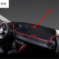 1set for 2015 2016 2017 2018 MAZDA CX 3 CX 3 CX3 car stickers car accessories car Dashboard Shade obstacle avoidance pad