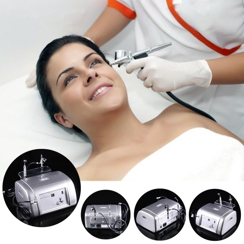 Hot sale portable oxygen jet peel skin rejuvenation machine hydrate spray water injection device oxygen facial machine for skin