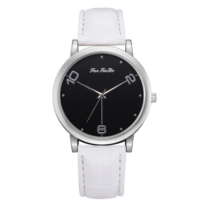 2018 Watch Women Fashion Ladies Watches PU Leather Female Quartz Watch Women Thin Casual Strap Watch Reloj Mujer