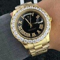 Mens Watches Top Brand Luxury Watch Steel Quartz Sport Gold Watch Men High Quality Wristwatches clock Military Waterproof
