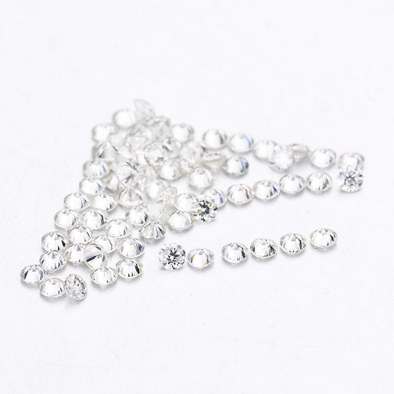 starszuan High Quality VS Loose 3mm EF Round Brilliant Cut Moissanite Gemstone for Jewelry Making