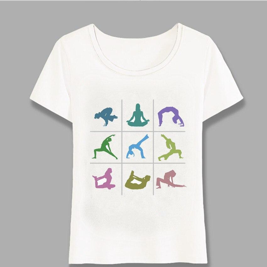 Willensstark Yo Ga Mädchen Buddha Mandala Chakra Energie Lotus Power Zentren Zen T-shirt Frauen Kurzarm Mädchen Tops Nette Mädchen Tees Harajuku Frauen Kleidung & Zubehör