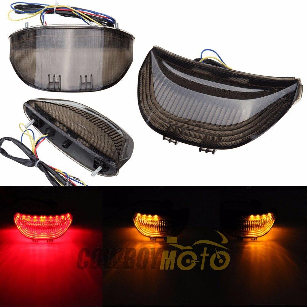 Integrated LED Brake Tail Light Turn Signals For Honda CBR 600 RR CBR600 2003 - 2006 CBR1000RR 1000 RR 2004 - 2007 for honda cbr 600 rr cbr1000rr fireblade sp 2007 2016 cnc adjustable short long clutch brake levers set motorcycle 2008 2015