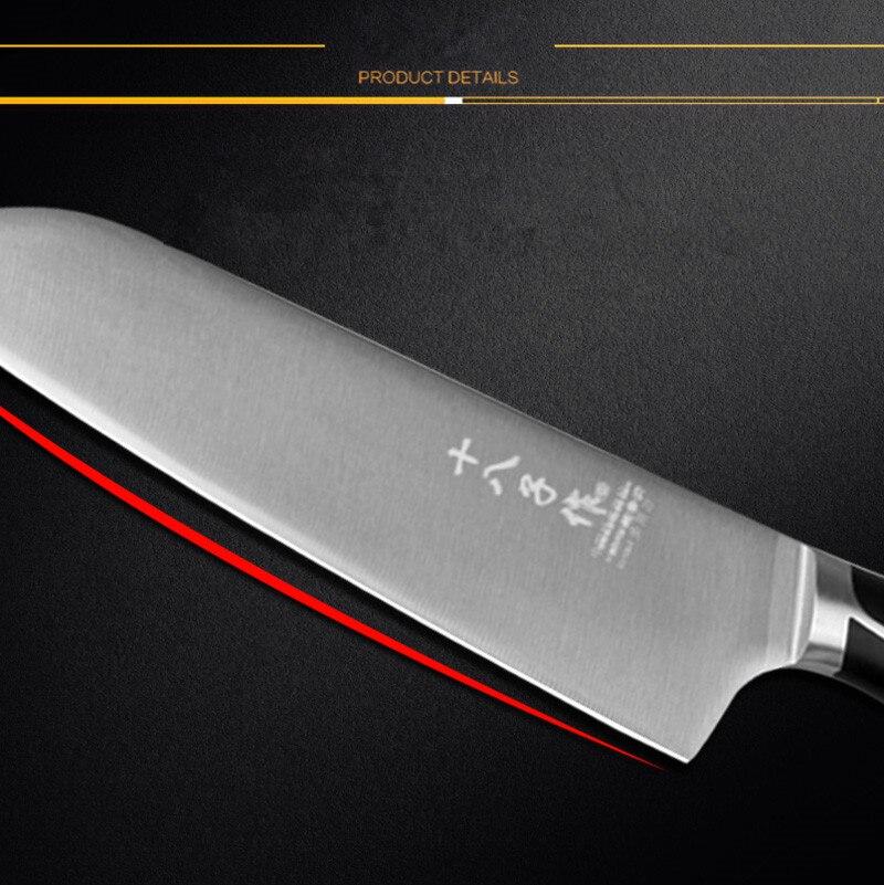 Անվճար առաքում Shibazi 5Cr15Mov Խոհանոցի - Խոհանոց, ճաշարան եւ բար - Լուսանկար 3