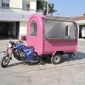 Популярный дизайнерский мобильный велосипед для фаст-фуда с 3 колесами  Электрический трехколесный велосипед для фаст-фуда  фургон с достав...