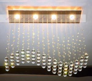 Image 3 - 現代k9クリスタルシャンデリアランプカーテンL700xW200xH 800ミリメートル高級ライト100%品質保証