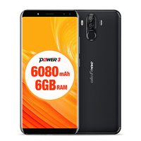 Ulefone Power 3 4G Smartphone Octa Core 6GB 64GB Android Phone Hi Fi Face Recognition Quad