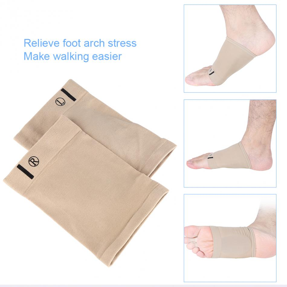 Gel Foot Arch Support Insole Sleeve Foot Cushion Pain Relief Heel Protection orthopedic insoles for Men Women Foot Care Tools