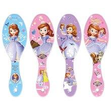 Disney Beauty fashion toys Air Cushion Comb Lovely Cartoon Frozen Snow White Princess Sofia Gift For Girls