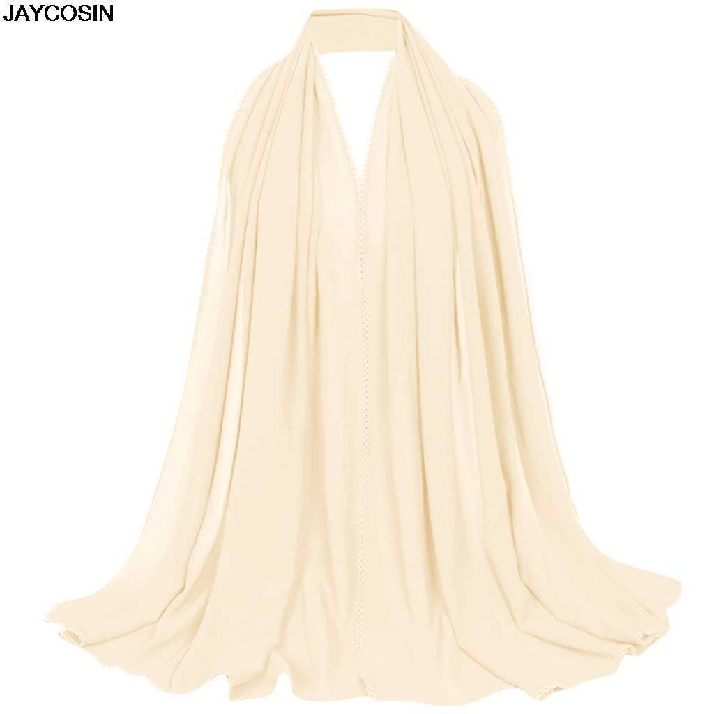 KLV Syal Fashion Wanita Etnis Abaya Islam Muslim Timur Tengah Hijab Patchwork Hiasan Kepala Selendang Wrapdiy Syal DIY Elegan 9507