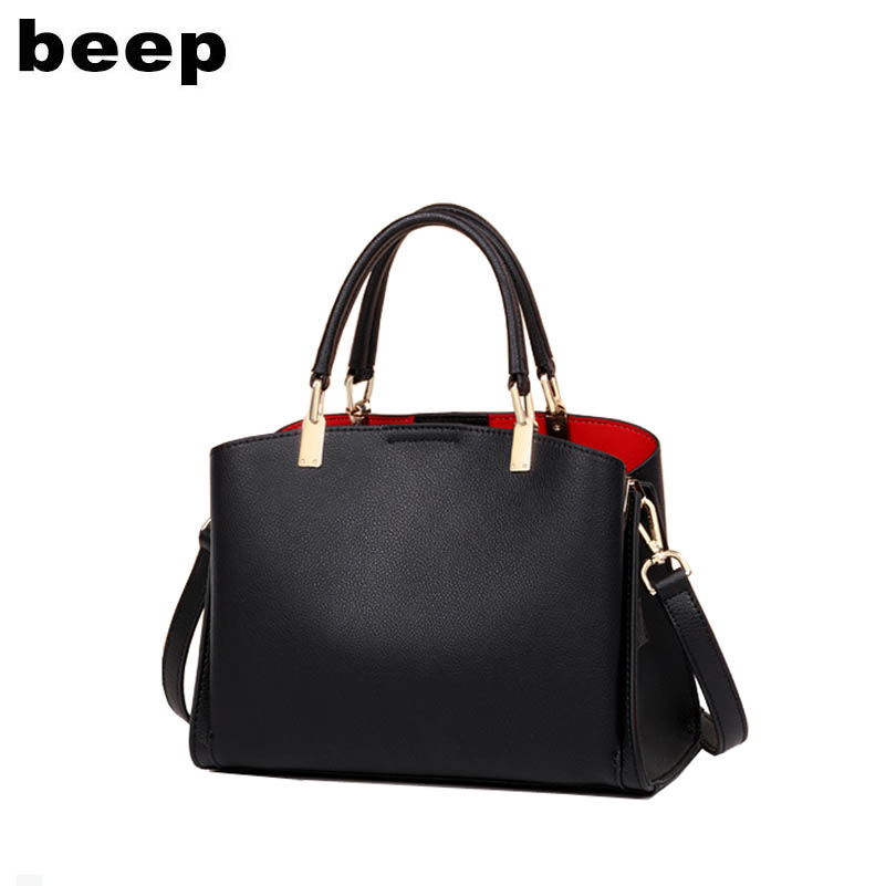 Beep 2019 New women Genuine Leather bag Luxury fashion Superior cowhide women handbags tote woemn shoulder bag womens bagBeep 2019 New women Genuine Leather bag Luxury fashion Superior cowhide women handbags tote woemn shoulder bag womens bag