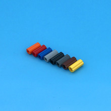 30Pcs/Lot TECHNIC PARTS Technic Axle Connector Smooth Bricks Parts DIY Block Set Toys Compatible with 59443/6538c