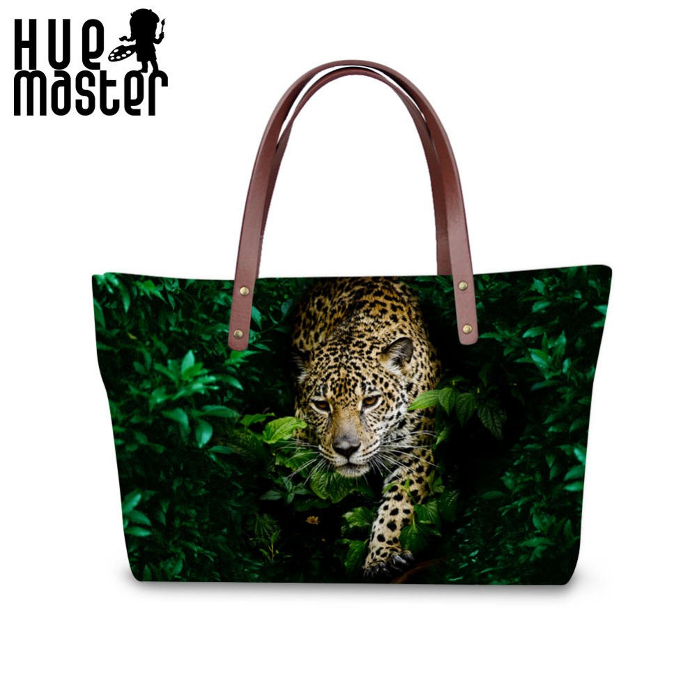 leopard exterior design leisure women tote bag female shopping large capacity tote bag ladies beach handle shoulderbag handbags