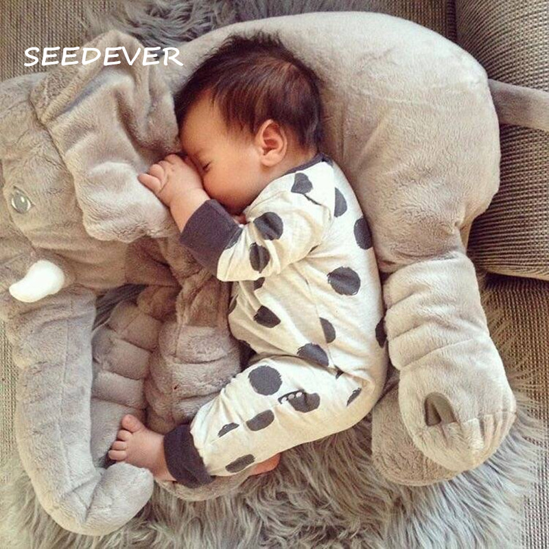 Baby Body Pillow Elephant Baby Bed Car Seat Cushion Kids