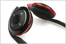 Cheapest Bluetooth Estéreo HeadestCompatible withPhones BluetoothWirelessTechnology mini EarphoneMicroSD de apoyo TF Tarjeta de Deporte