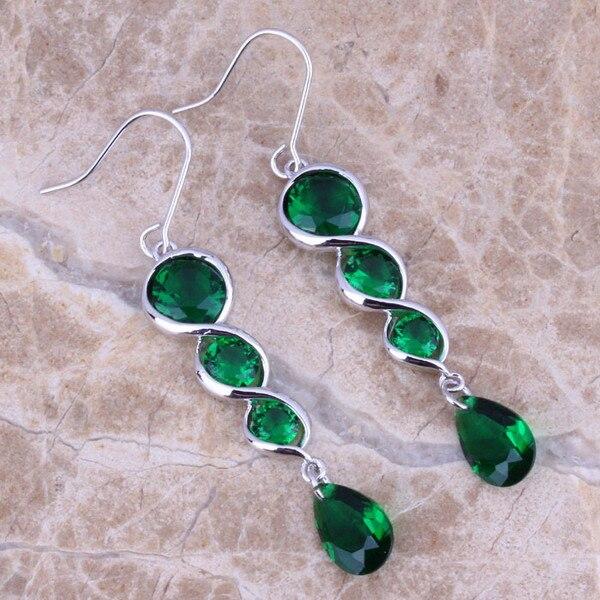 Femme Fashion Vert naturel jade gems 925 Sterling Silver Ring Taille 7//8//9//10