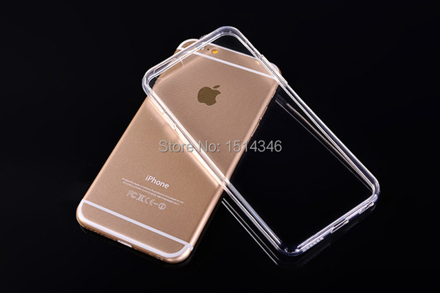 Super Flexible Clear TPU Case For Iphone 6 4.7inch Slim Crystal Back Protect Skin Rubber Phone Cover Fundas Silicone Gel Case