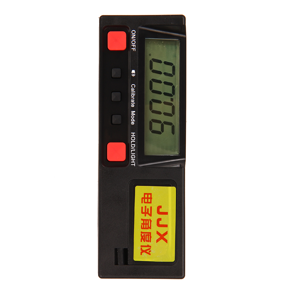 Electronic Digital LCD 360 Degree Inclinometer Angle Dauge Protractor level Box Meter with Magnetic Base Automatic Power-off mini digital protractor inclinometer box electronic level box magnetic base measuring tools with gift pouch