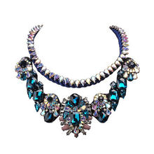JShine Classic Brand Statement Necklace Handmade Collares Rope Chain Collier Femme Necklace Women Chocker Kolye Jewelry(China)