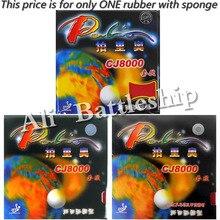 Оригинал Palio CJ8000 (2-боковые петли Тип) пунктов-в настольный теннис/пинг-понга резины с губкой (H36-38)