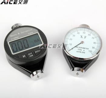 Pointer rubber hardness tester / Shore hardness tester Shao Er (A/O/D) tire / plastic / foam