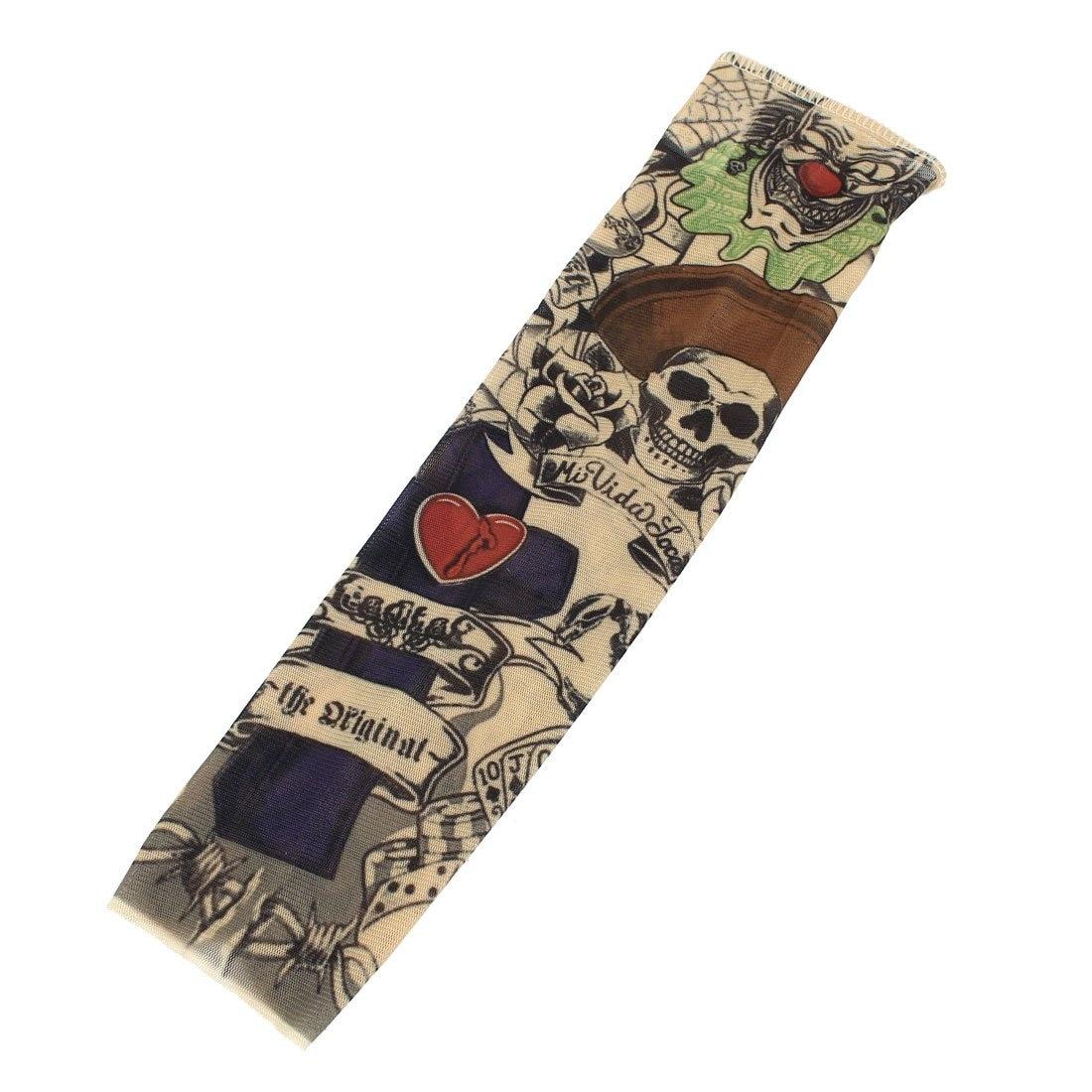 Armstulpen DemüTigen Schädel Skorpion Stretchy Tattoo Arm Hülse Strumpf Für Kind Aromatischer Geschmack