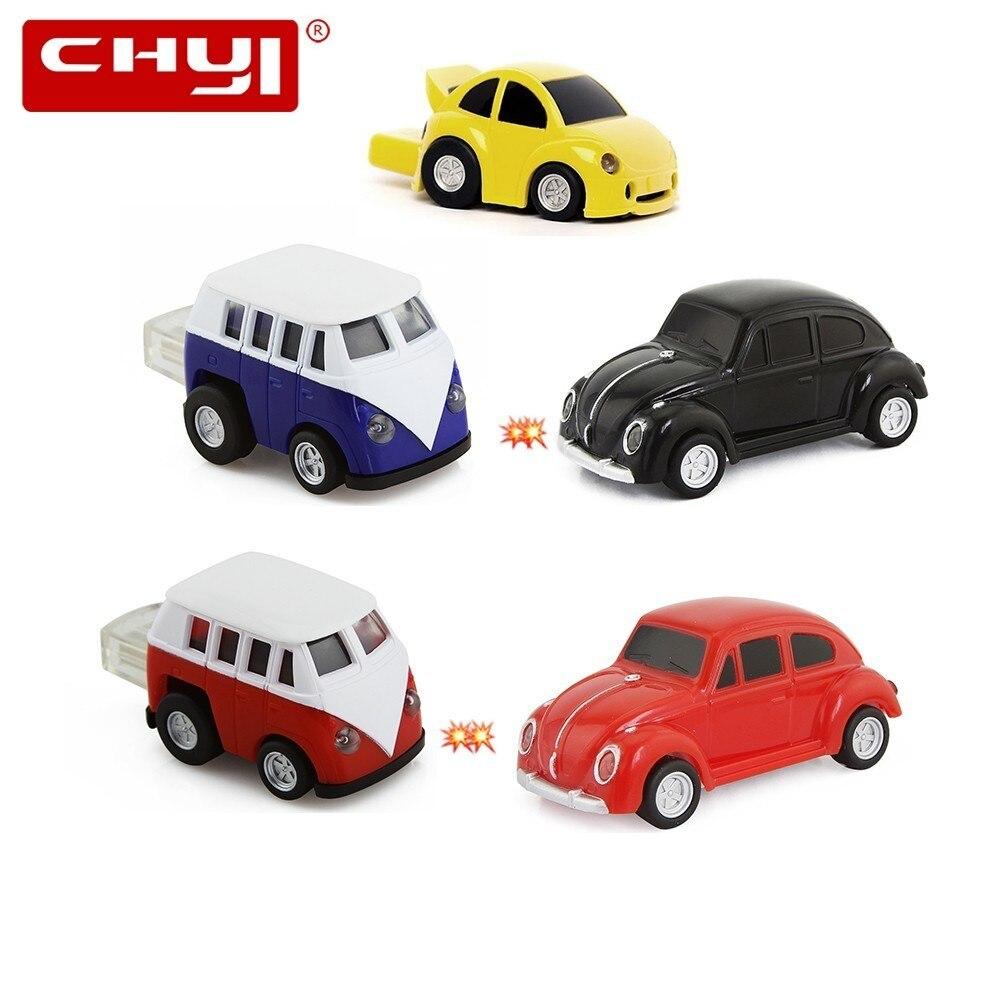 CHYI hot sale car shape USB2.0 4GB 8GB creative 3D Mini 16GB 32GB flash pen drive funny u disk memory stick pendriver cool gift