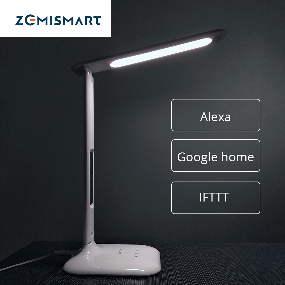 Smart Desk Lamp Work with Alexa Google Home