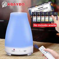 Difusor de aceite esencial de Aroma de 200 ml Control remoto humidificador de aire ultrasónico aromaterapia enfriador nebulizador para el hogar