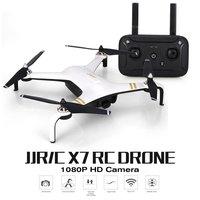 JJR/C X7 Смарт Дрон на ру вертолет бесщеточный мотор RC игрушка Дрон с 5G Wi Fi FPV 1080 P HD Камера gps Профессиональный Квадрокоптер подарок