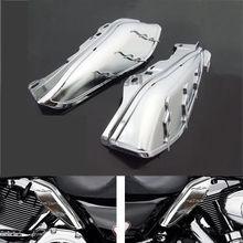 Хромированная Гидромассажная AirMaster Середине Кадра Воздуха Дефлектор Для Harley Electra Glide Дорожного Glide Road King Street Glide Tri Glide мотоцикл