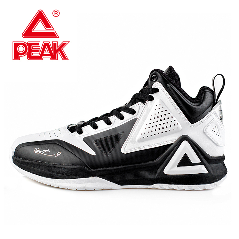 PEAK SPORT Tony Parker I Professional Player Basketball Shoes Boots Gradient Dual FOOTHOLD Tech Men Athletic Sneakers EUR 40-50 peak men athletic basketball shoes tech sports boots zapatillas hombres basketball breathable professional training sneakers
