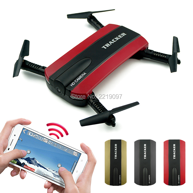 JXD523 Tracker Foldable Pocket Quadcopter Mini Selfie JXD 523 Drone Altitude Hold FPV WIFI Camera RC Helicopter Headless VS H37 foldable selfie drone dron tracker phone control mini drones with wifi fpv hd camera pocket helicopter jxd 523 523w vs jjrc h37