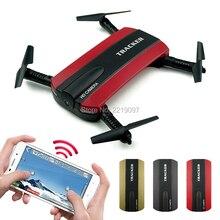JXD523 Tracker Pliable Poche Quadcopter Mini Selfie JXD 523 Drone Maintien D'altitude FPV WIFI Caméra RC Hélicoptère Sans Tête VS H37