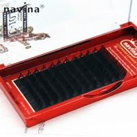 NAVINA High Quality False Eyelashes Mink Eyelash Extension Cilios Posticos Fake Lashes Natural Black Color Eye