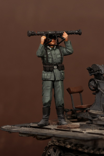 Scale Models 1 35 WWII German antiaircraft gunner artillery rangefinder soldier WWII Resin Model Free Shipping