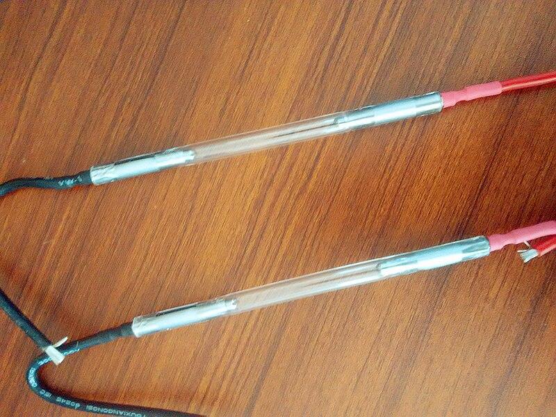 №2 шт. дешевые ИФЛ ксенон лампы 7*65*130 мм - w372