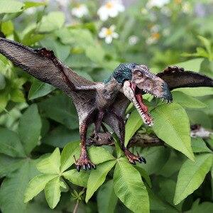 Image 4 - Oenux nowy jurajski drapieżnik mięsożerne otwarte płytki pterodaktyl stałe pcv dinozaur świat Model zwierzęcia Action figurki zabawki dla dzieci