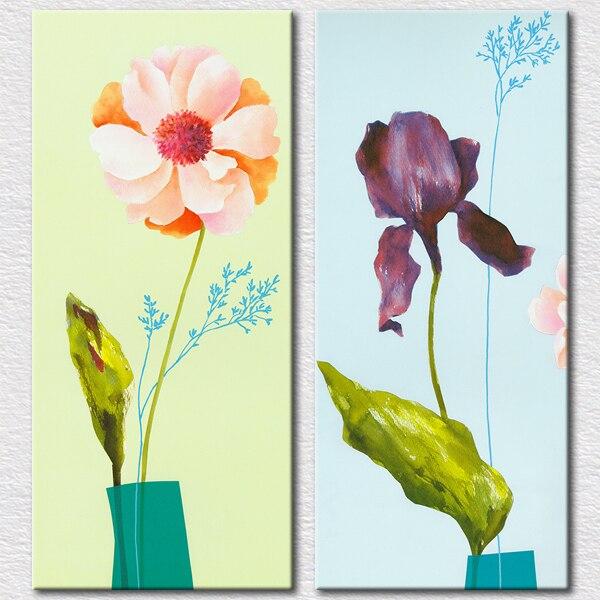 Sketsa Bunga Lukisan Kanvas Bunga Yang Mudah
