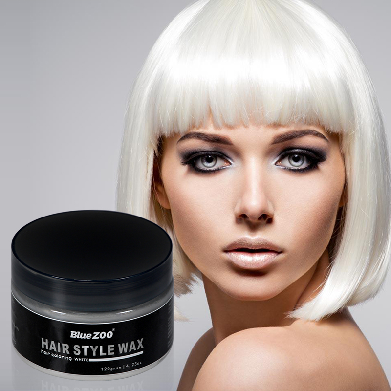 7 Colors Temporary Hair Dye Modeling Hair Color Cream Long Lasting Disposable DIY Hair Color Mud No Harm Easy To Wash Out TSLM2