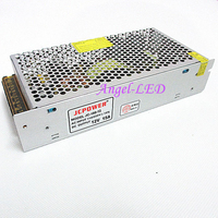 Free Shipping 1pcs DC 12V 15A Led Regulated Switching Power Supply For LED Light Strip