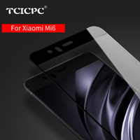 TCICPC Tempered glass for Xiaomi mi6 mi 6 m6 full Screen Protector 9H Nano Coating Protective glass Film for Xiaomi mi6 mi 6 pro