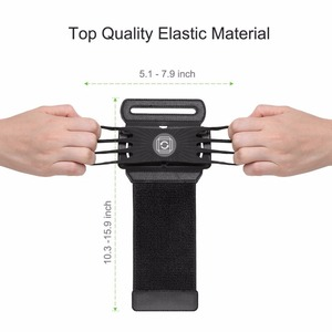 """Image 2 - 100% Wristband Phone Case Holder 180 Rotatable for Running Cycling Gym Jogging Suitable For 3.5"""" 6"""" All Cell Phone"""