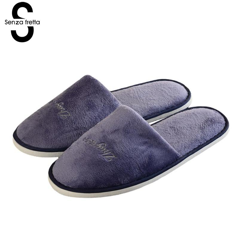 Senza Fretta Men Portable Slippers Thick Bottom Non-slip Slippers Hotel Travel Guests Men Special Non-disposable Slippers 28.5cmSenza Fretta Men Portable Slippers Thick Bottom Non-slip Slippers Hotel Travel Guests Men Special Non-disposable Slippers 28.5cm