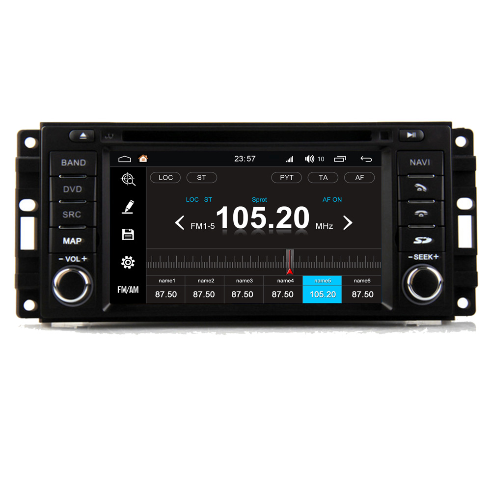 RoverOne S200 Android 8.0 Car Multimedia Player For Dodge Charger 2008~2010 Autoradio DVD Radio Stereo GPS Navigation Bluetooth