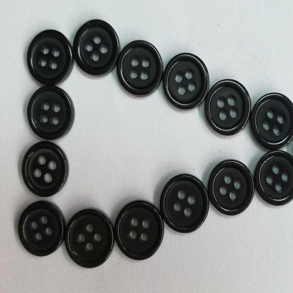 10Pcs Resin Round Shape Buttons 4 Holes Sewing Craft Fit Sewing Button Scrapbook