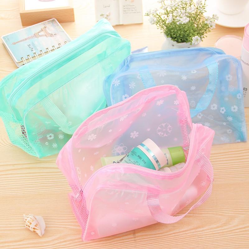 Wholesale New Fashion Pencil Bag Environmental Protection PVC Transparent Organizer Pencil Case School Supplies Students Gift