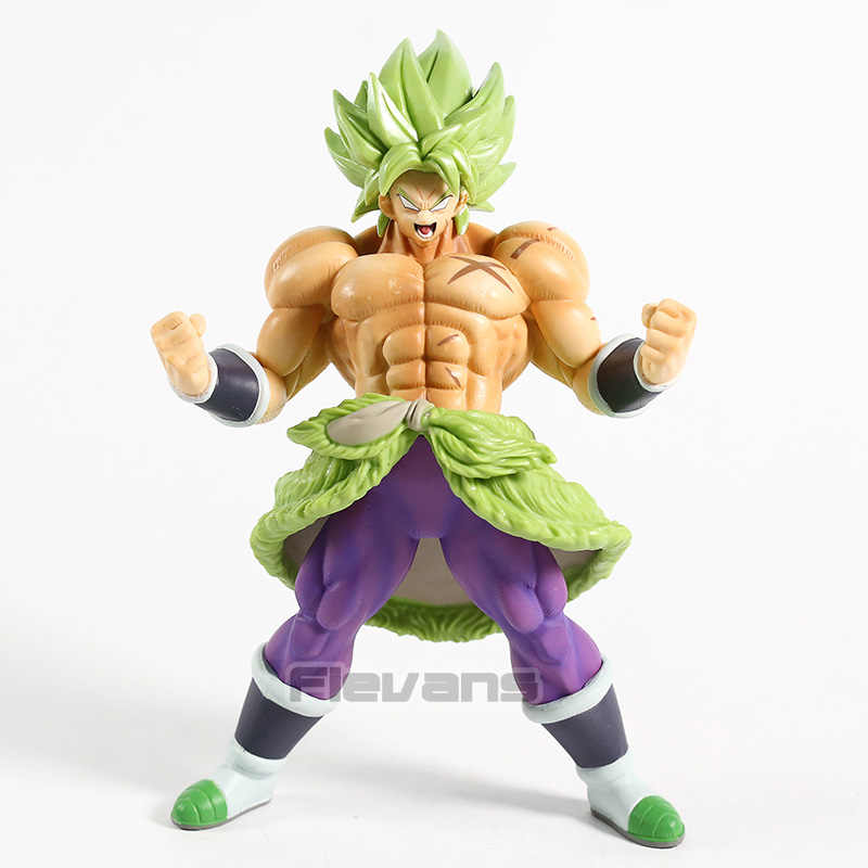 SUPER Dragon Ball Super Saiyan Broly Full Power PVC Figura Collectible Toy Modelo